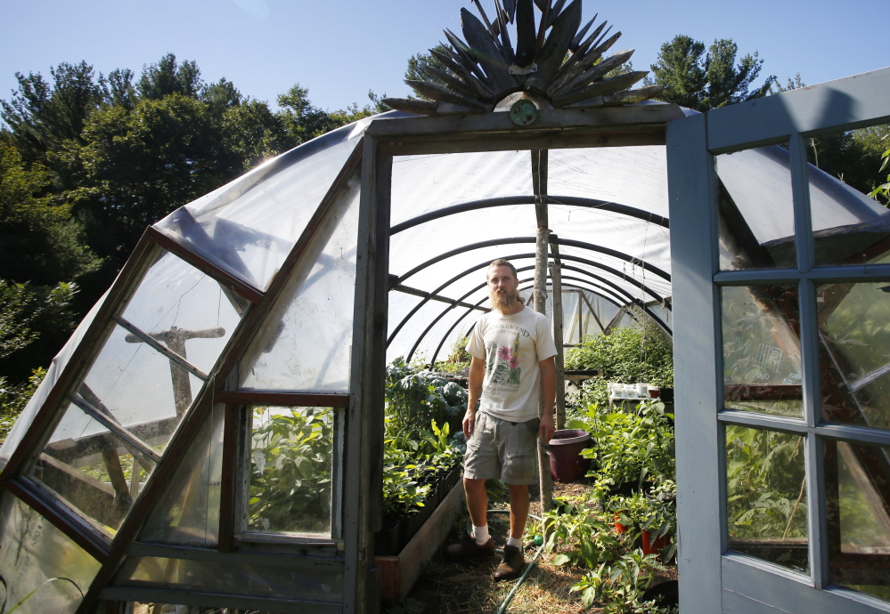 Permaculture landscaper Aaron Parker relies a lot on plants that are self-sufficient, which cuts down on the need for soil amendments.