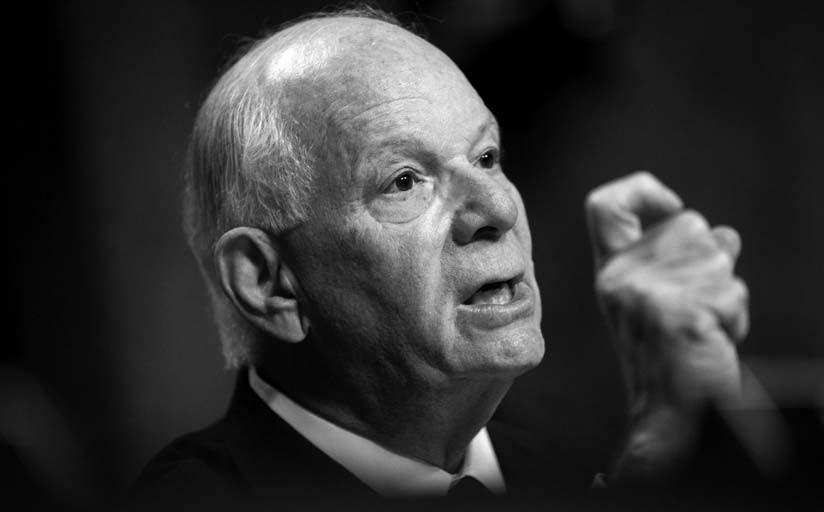 In this July 23 file photo, Sen. Ben Cardin, D-Md., ranking member on the Senate Foreign Relations Committee, speaks on Capitol Hill in Washington.