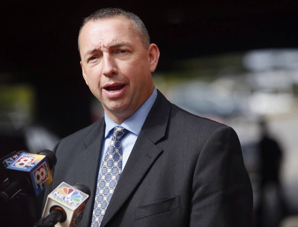 """Portland Police Chief Michael Sauschuck says Deering High's school resource officer told the governor about an overdose in Deering Oaks park. """"The story was never about students,"""" Sauschuck said. """"It was never about schools."""""""