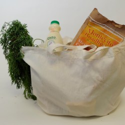Various grocery carry bags