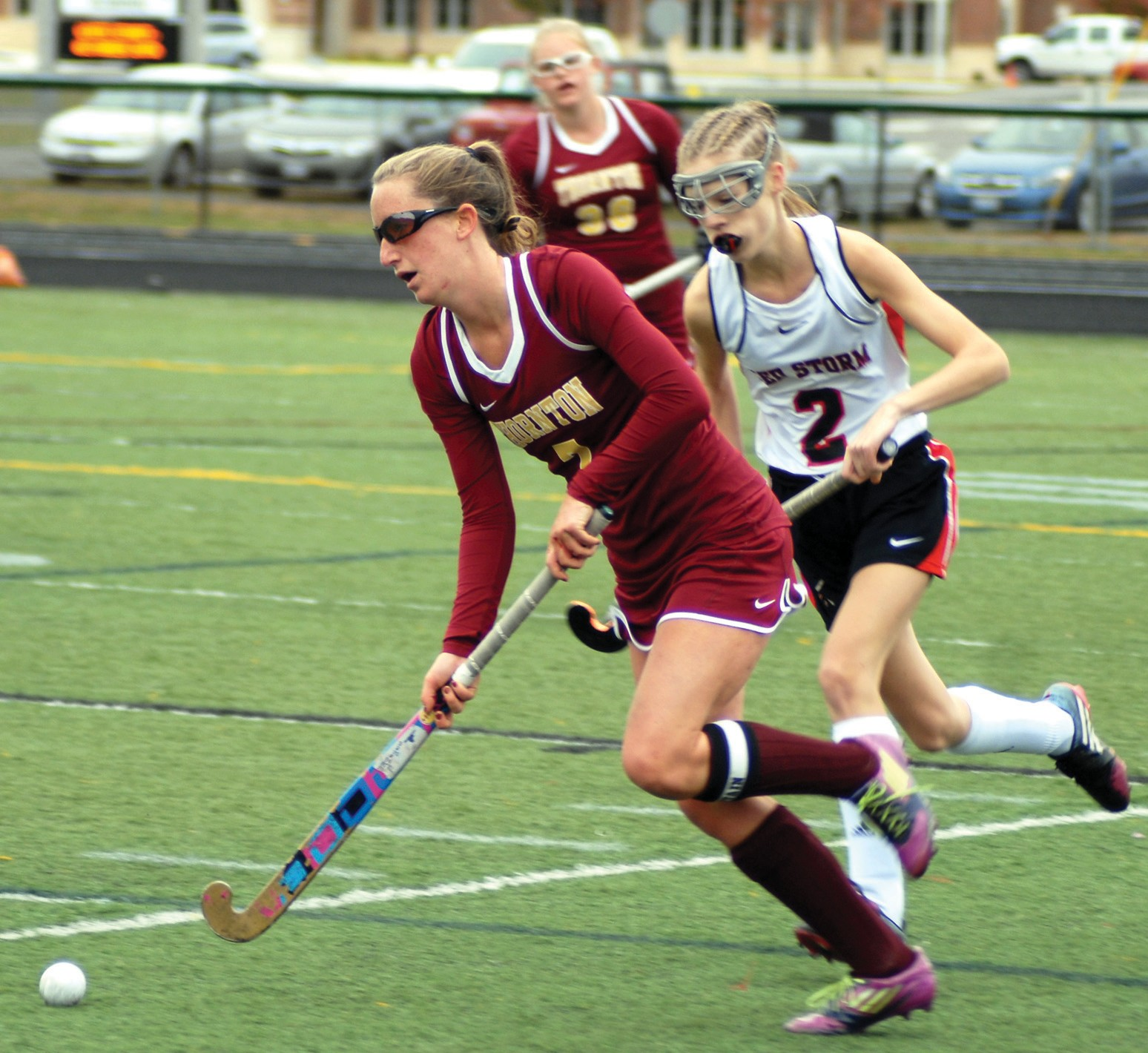 Thornton Academy senior Grace Pickering has been named the Journal Tribune Field Hockey Most Valuable Player for the 2015 season.