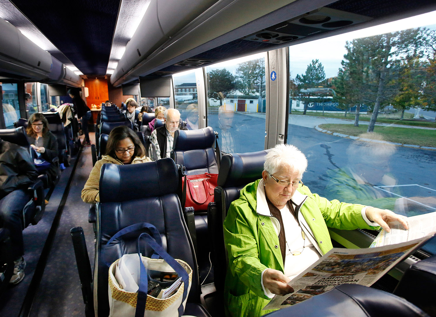 New Bus Route Means Smoother Sailing From Portland To New