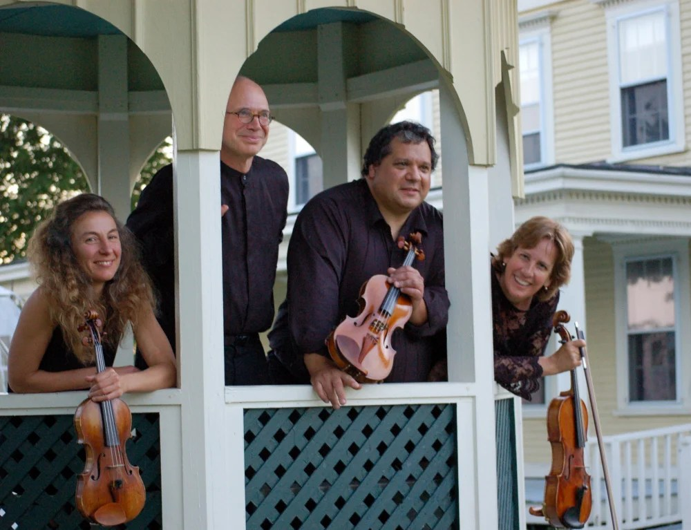 "The DaPonte String Quartet will play ""Dino's Hit List"" at the Unitarian Universalist Church in Brunswick on Sunday at 3 p.m."