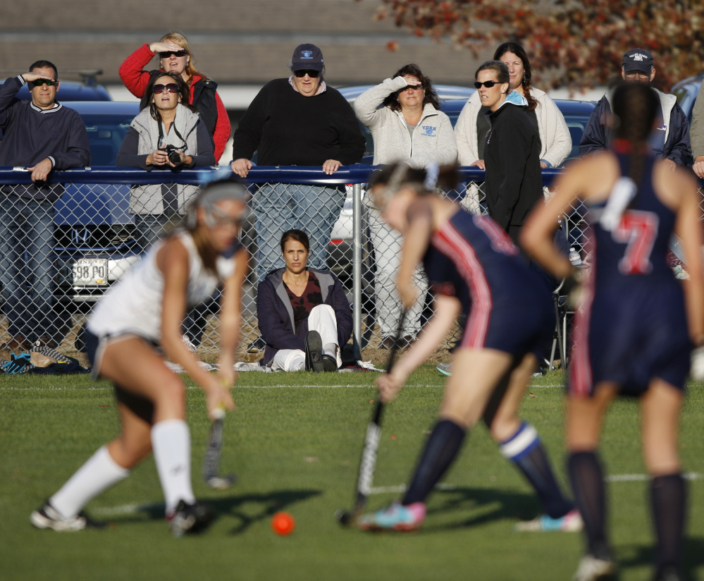 York High, whose field hockey team took on Gray-New Gloucester recently, became the latest school to institute activity fees as a way to avoid staff cuts or an increase in the local property tax rate.