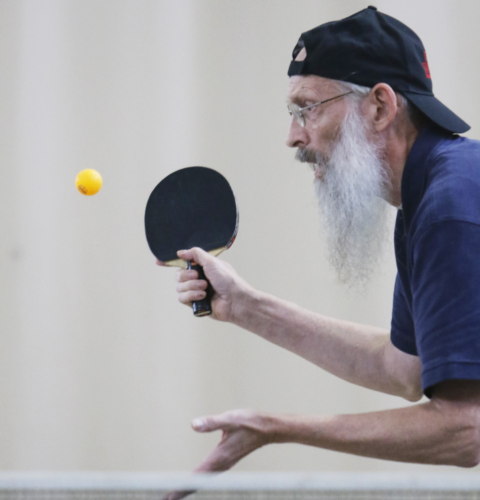 Table Tennis Players Compete In New Gloucester Portland