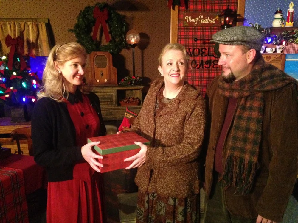 """Opera singer Maura Gwyer and Maine favorites Nancy Durgin and Mark Calkins star in """"The Gifts of Christmas: A Maine Musical."""""""