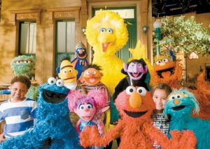 """THE CAST OF """"SESAME STREET"""" is seen in this image released by the Sesame Workshop. The popular children's show begins its 46th season on HBO on Saturday."""