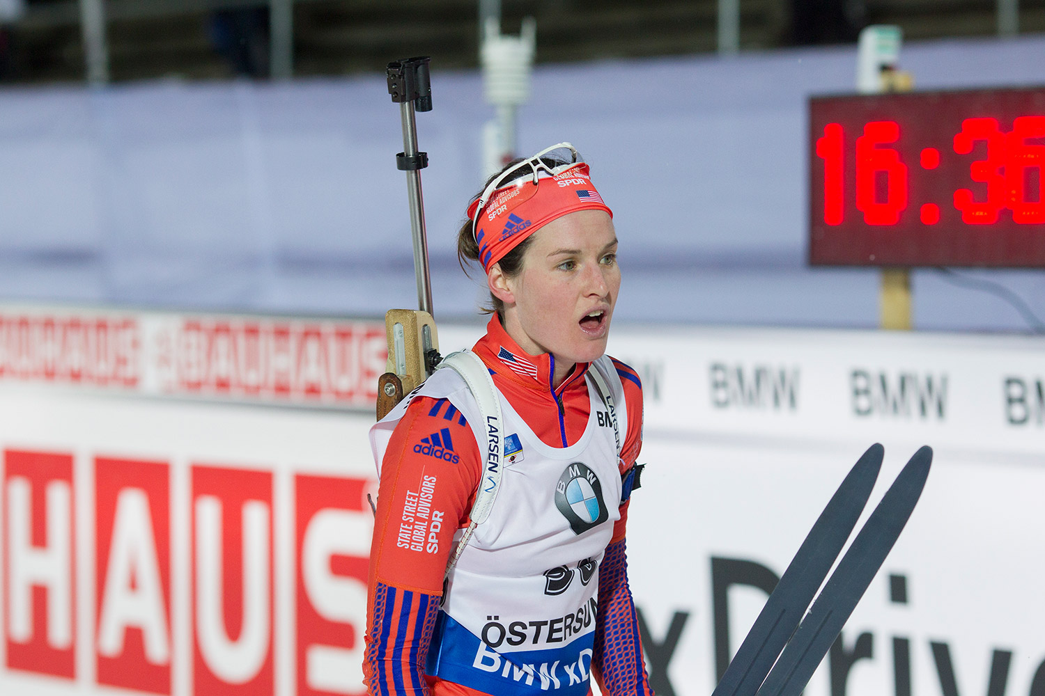 """""""I think we have barely scratched the surface of what Clare's abilities are,"""" says the president and CEO of U.S. Biathlon. """"We need to have her training at the national level for three or four years before we see what she can do."""" Manzoni/NordicFocus"""