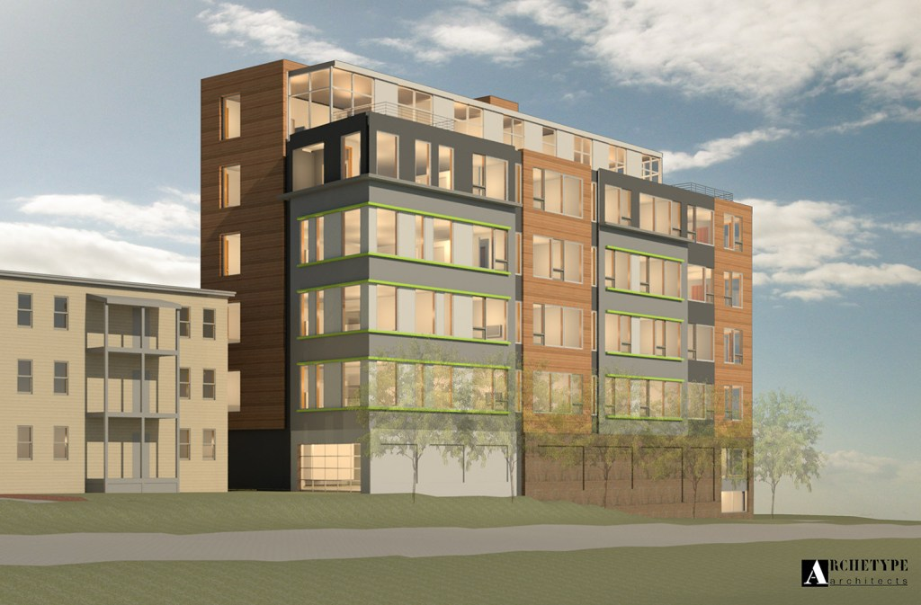 Developer Chip Newell says he hopes his 26 condominium units will be affordable to young professionals and help to address the city's shortage of workforce housing.