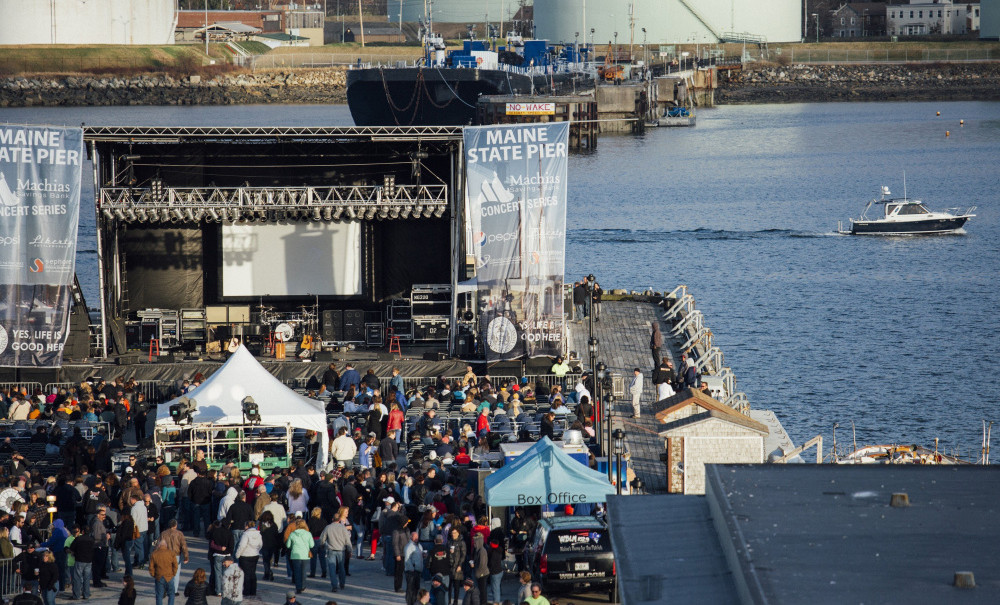 In approving concerts on the Maine State Pier in 2017, the Portland City Council said the Bangor-based promoter could not put on as many shows as in past years.