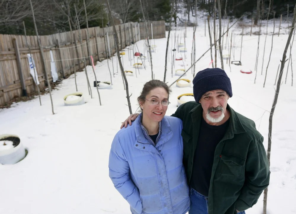 Randy and Margot Hayes, medical marijuana patients in Montville, are charged with drug trafficking and illegal marijuana cultivation.