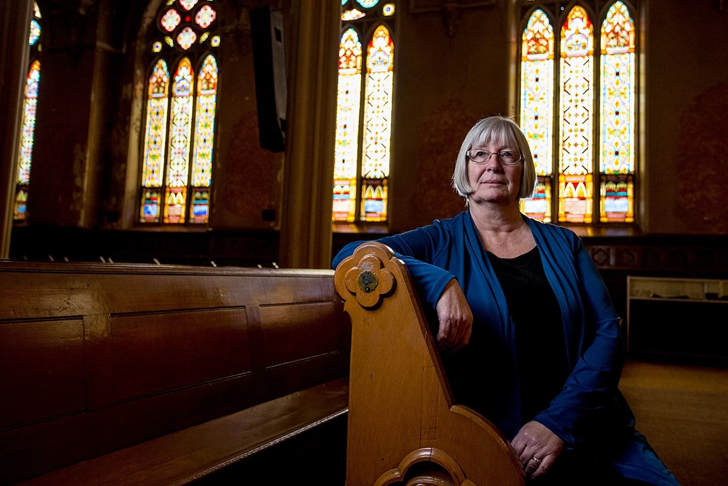 Margaret Feeney LaCombe of Peaks Island had a hand in creating a DNA database that connects Irish descendants with relatives back in the homeland.