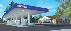 PRIMARY ACCESS to the Irving gas station and 3,850- square-foot convenience store would be from Bath Road, but the store can also be accessed from Allagash Street on Brunswick Landing.