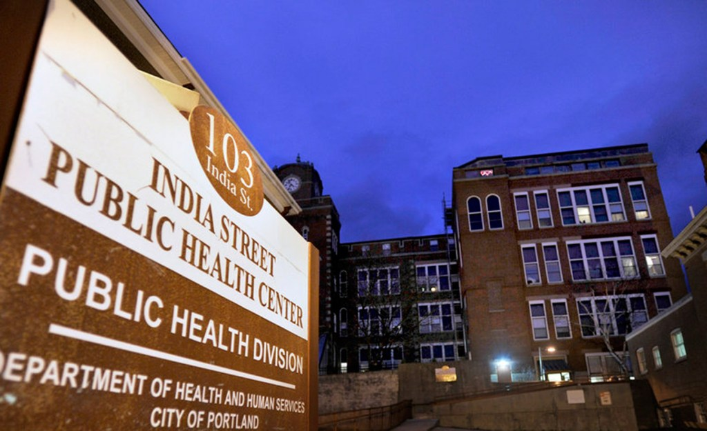 The free clinic at the India Street Public Health Center would be closed under the city's proposed budget for 2016-17.