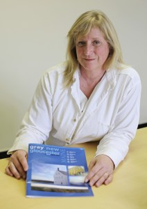 Tracy Scheckel of the Gray New Gloucester Development Corp.