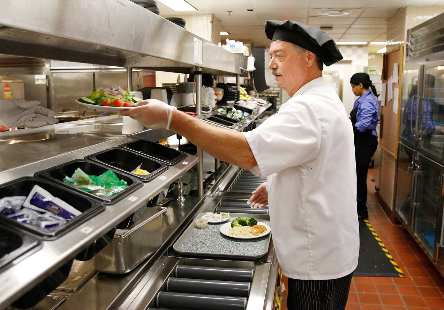 Once An Afterthought Hospital Food Goes Upscale