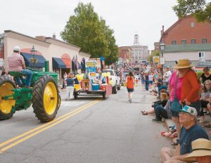 THE INDEPENDENCE DAY PARADE in Bath is seen in this file photo from 2015. The parade returns again on Monday.