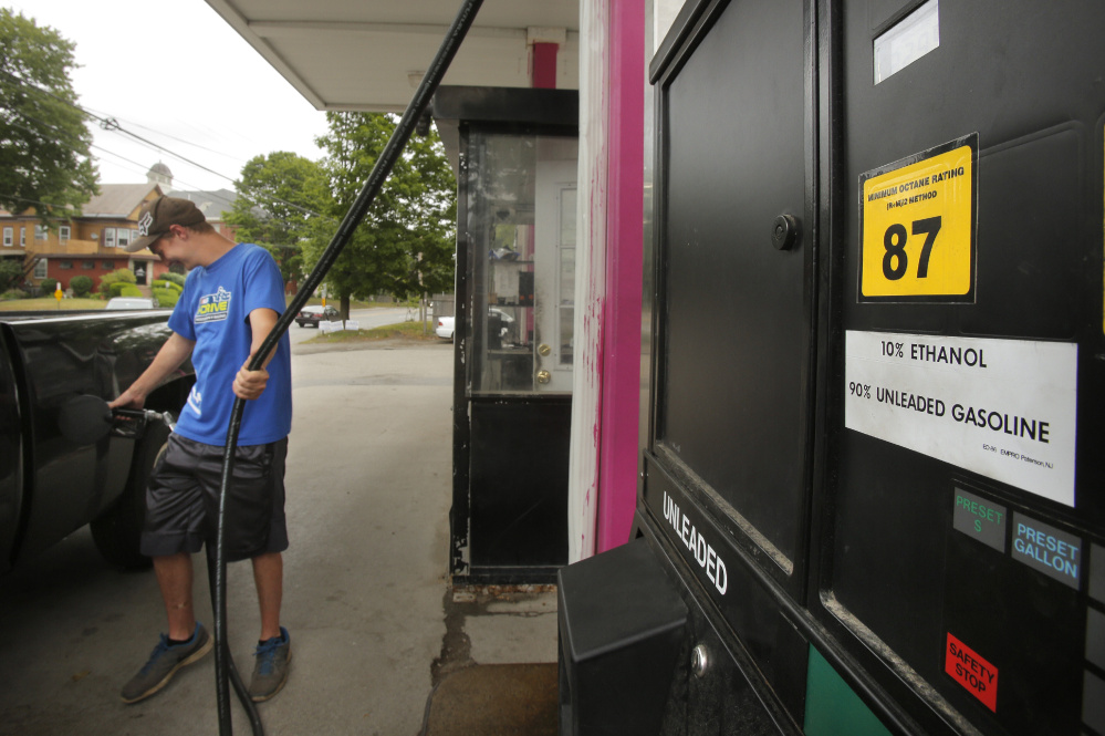 Maine retiree fueling governor's questions about ethanol - Portland