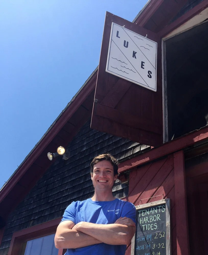 After a brief stint on Wall Street, Cape Elizabeth native Luke Holden founded an international lobster shack empire. He's come back to Maine and has opened a Luke's Lobster shack. He's also trying to cut out the middlemen in the lobster supply chain via his work with the Tenants Harbor Fisherman's co-op.