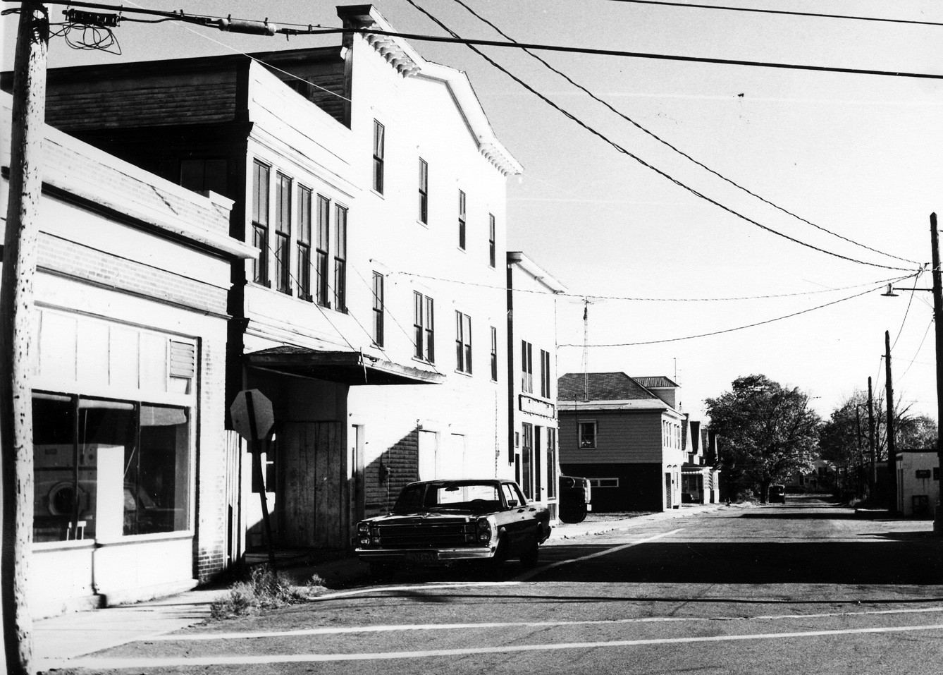 Rick Schneider, who graduated from Nasson College in 1971 and is an active member of the Nasson Alumni Association, is looking for photos, stories and memorabilia about Sanford's old theaters – including this one, the Gowen Theater, in Springvale. It was demolished during urban renewal in the 1970s.