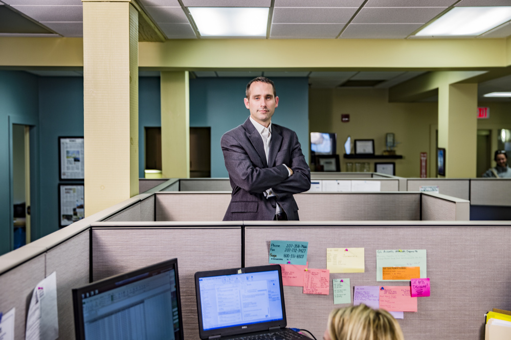 Joshua Broder, CEO of Tilson Technologies, says the rising cost of health insurance is creating a serious headache for businesses in Maine.