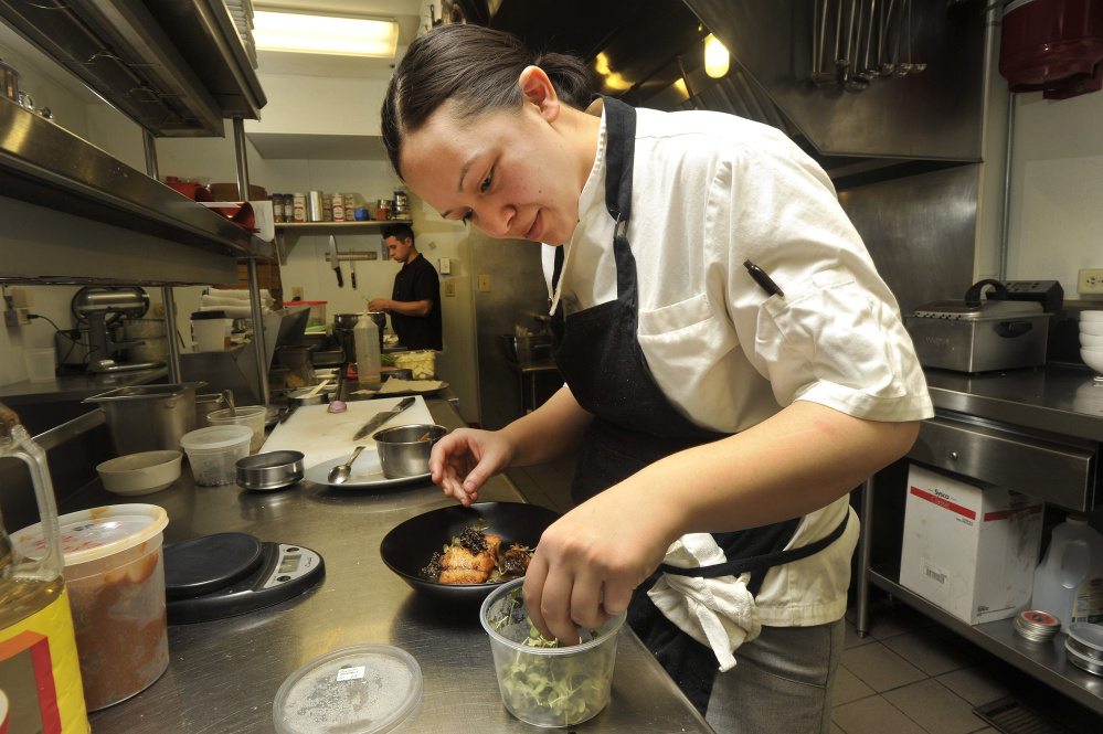 Cara Stadler, chef/owner of Tao Yuan in Brunswick and Bao Bao Dumpling House in Portland, is once again a James Beard semifinalist in the Rising Star Chef of the Year category.