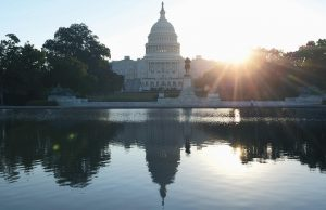 THE CAPITOL BUILDING in Washington.