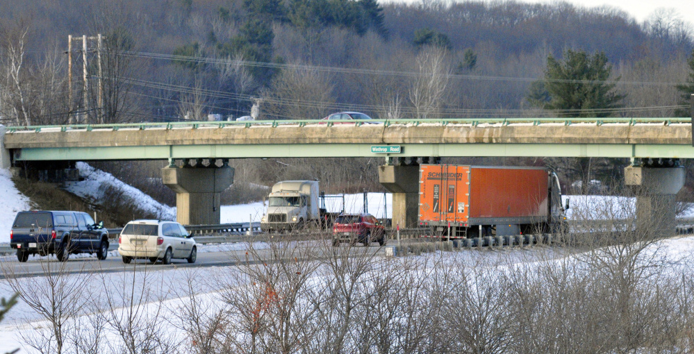 Replacement of the Winthrop Street bridge over Interstate 95 in Hallowell will begin in September of next year and finish before the holiday shopping season.