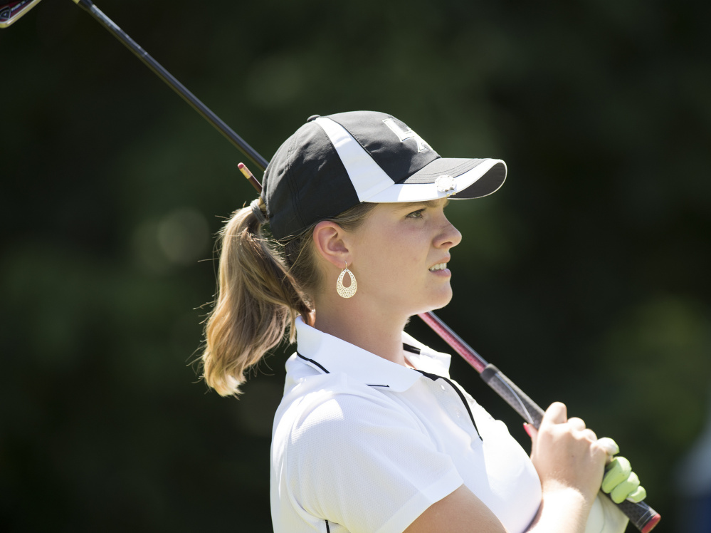Bailey Plourde had an outstanding summer, with a victory at the Maine Junior Championship and a runner-up finish at the Maine Women's Amateur, then tied for the high school girls' championship in October.
