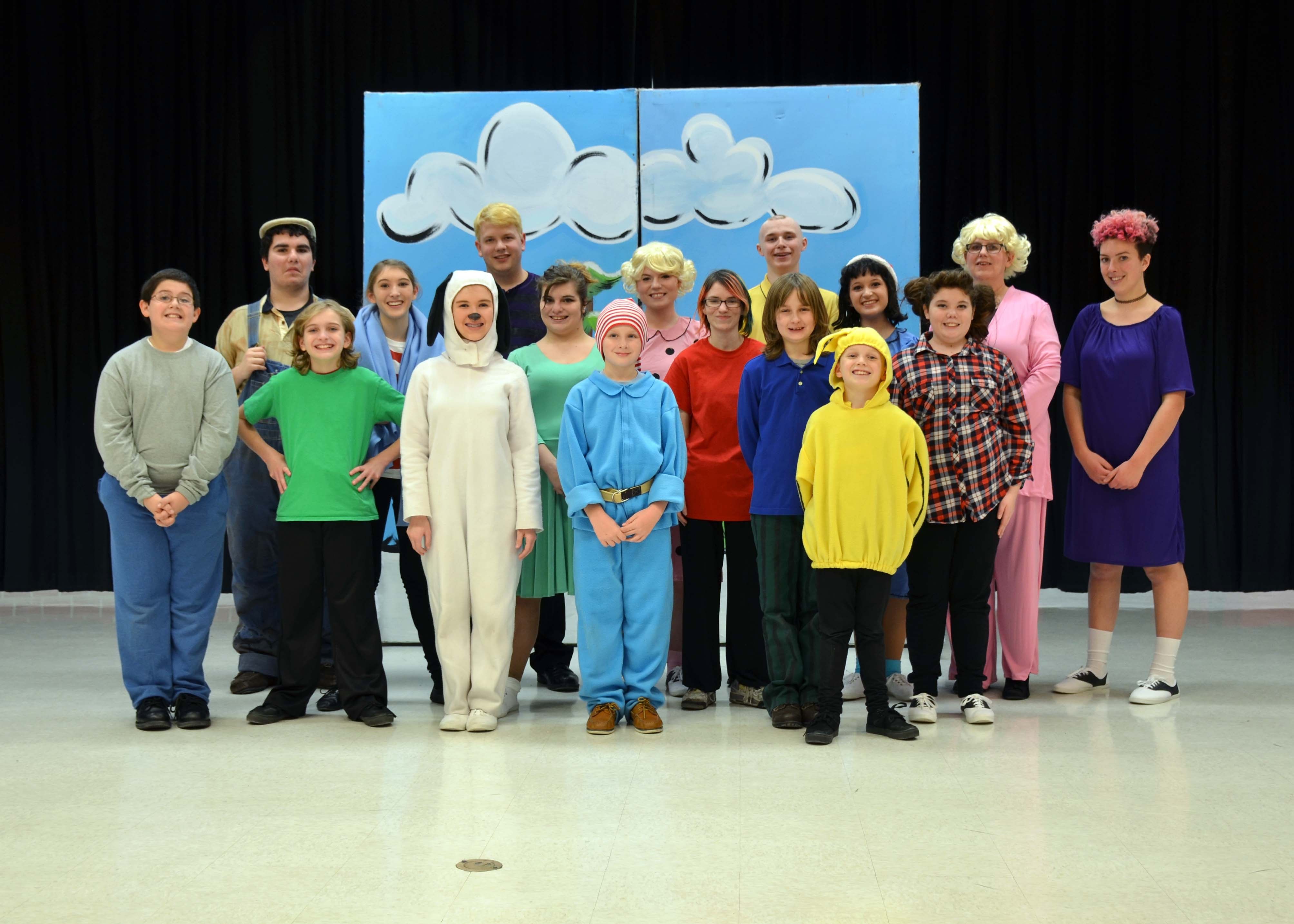 Pictured is the cast of