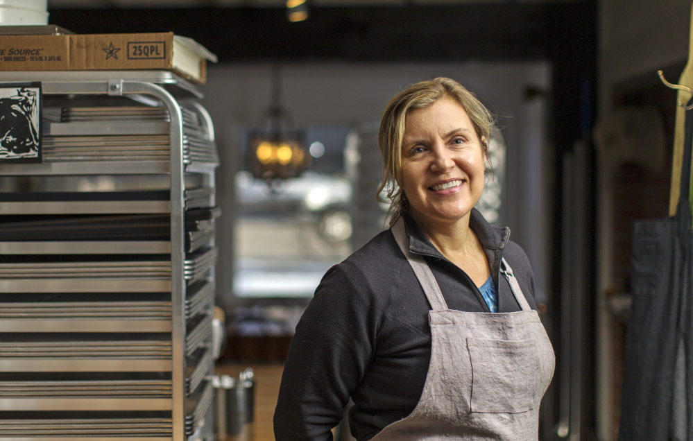 Krista Kern Desjarlais is getting into the swing of things at her new cafe.