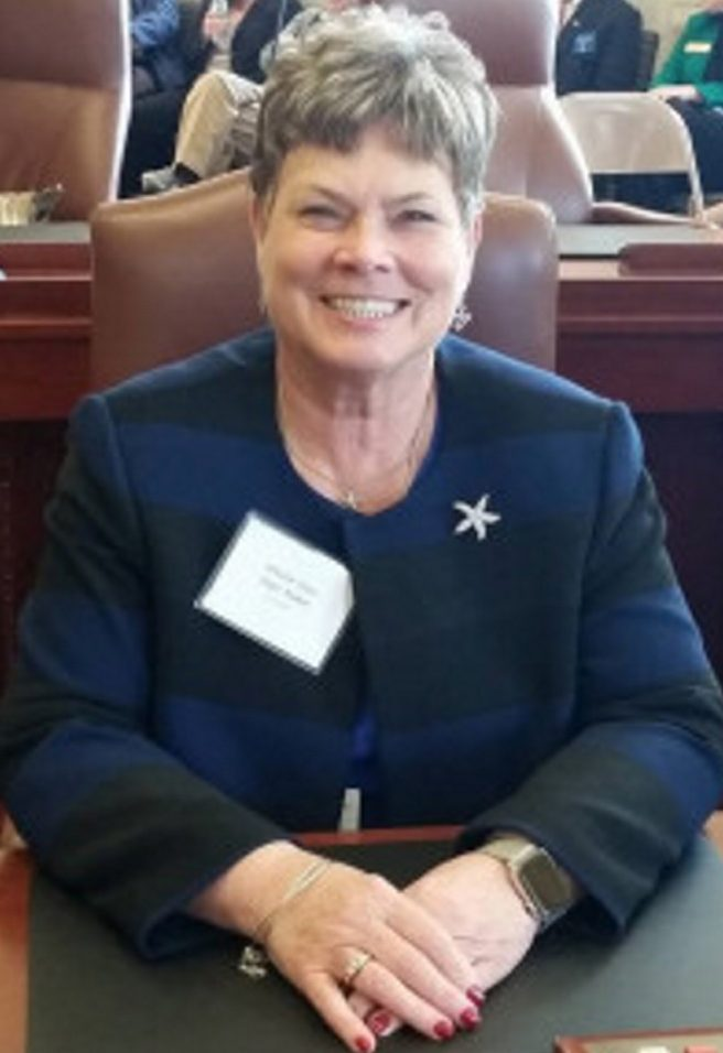 """State Sen. Joyce Maker, R-Calais, says, """"The government shouldn't be allowed to stand in the way of individuals trying to better themselves and move on with their lives."""""""