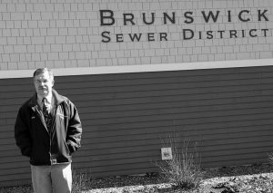 LEONARD BLANCHETTE, general manager of the Brunswick Sewer District, recently switched from MPO to a private-sector broker