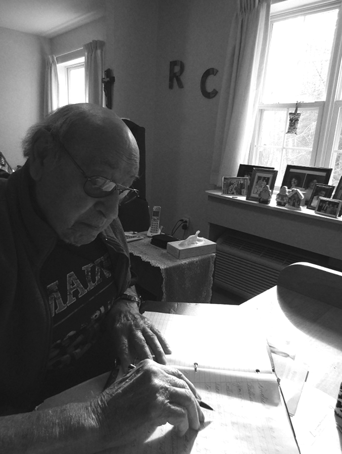 Roger Ciufo edits 'The Atria Express,' a community newsletter for residents of Atria Kennebunk. SUBMITTED PHOTO