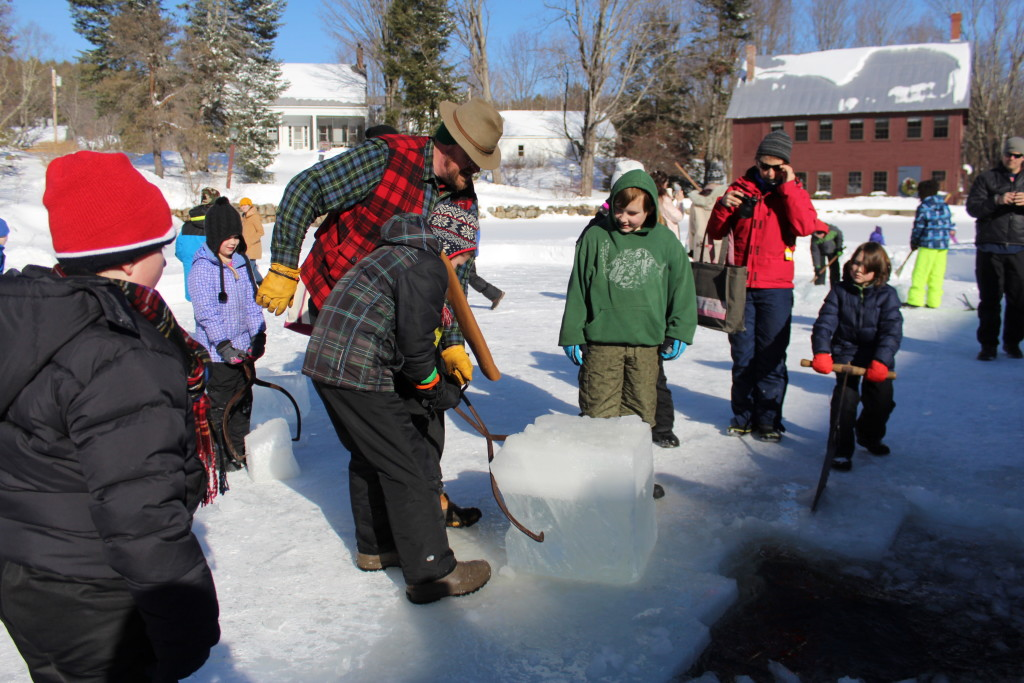 The Curran Homestead Village at Newfield plans an ice harvest Feb. 11. The ownership of former 19th Century Willowbrook Village transferred to the Orrington-based Curran Homestead at the first of the year, and a number of special events are planned, from the ice harvest to