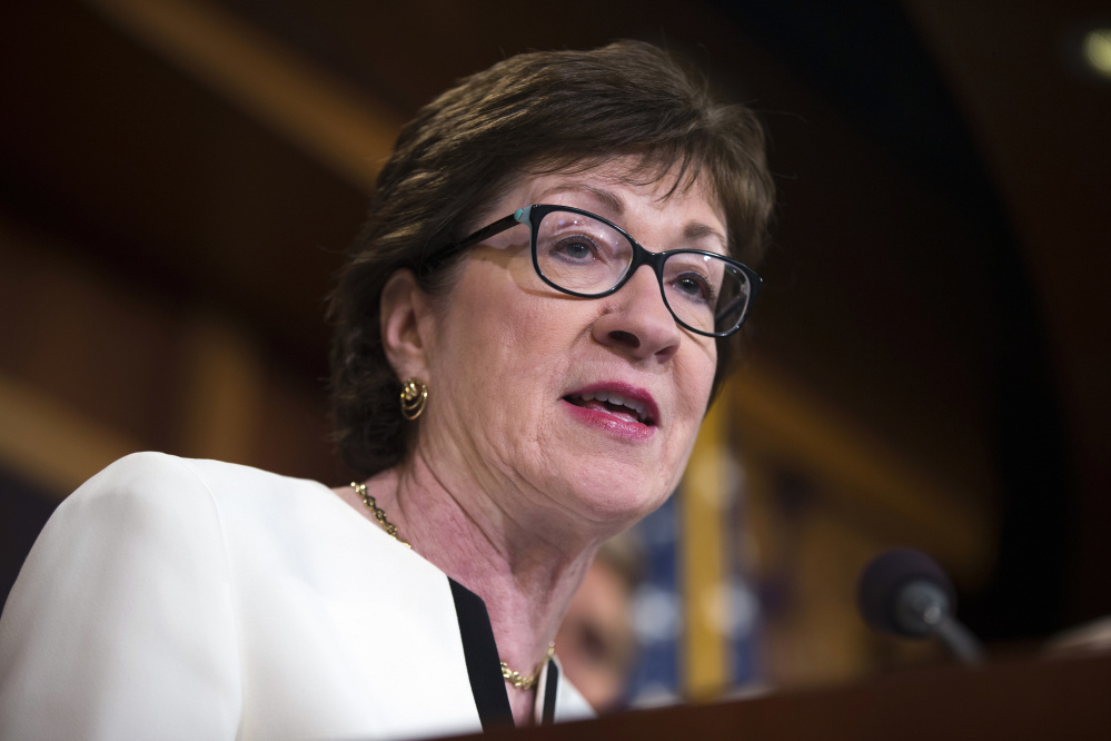 Maine Sen. Susan Collins