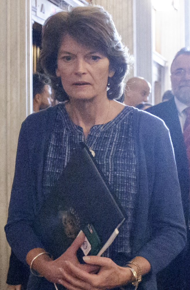 Republican Sen. Lisa Murkowski of Alaska joined Maine's Sen. Susan Collins in voting against Betsy DeVos' nomination. The two senators said they don't think DeVos is qualified for the job.