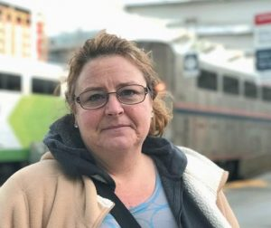 SHOWN IN DENVER, Machelle Lowe, 45, of Mount Pleasant, Iowa, was traveling to see her daughter in Wyoming after discovering she has cancer.
