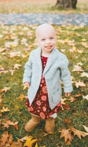 MADISON ARNDT, a 2-year-old Brunswick resident, was diagnosed with Stage III high-risk neuroblastoma in July.