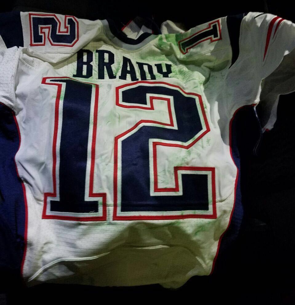 reputable site 3d558 922f4 NFL notebook: A Brady jersey is found – is it the real one ...