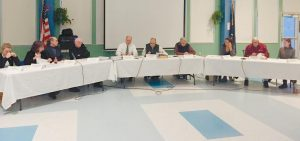 THE RSU 1 BOARD OF DIRECTORS met on Monday, issuing the first reading of the 2018 budget and discussing developments in the design of the new Morse High School at the Wing Farm site, which is on pace to open in 2020.