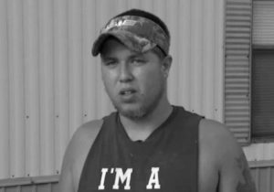 JOEY MEEK, friend of Dylann Roof who is accused of killing nine black church members during Bible study on June 17 in Charleston, South Carolina, speaks to The Associated Press in this 2015 frame taken from video. Meek, the only person to whom Roof confided his racist plan to massacre worshippers is set to be sentenced Tuesday for lying to the FBI.
