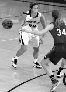 BOWDOIN COLLEGE'S Lydia Caputi and her Polar Bears are in the NCAA Division III Women's Basketball Tournament beginning Friday against SUNY New Paltz State. Bowdoin competes in the Ithaca, N.Y., regional.