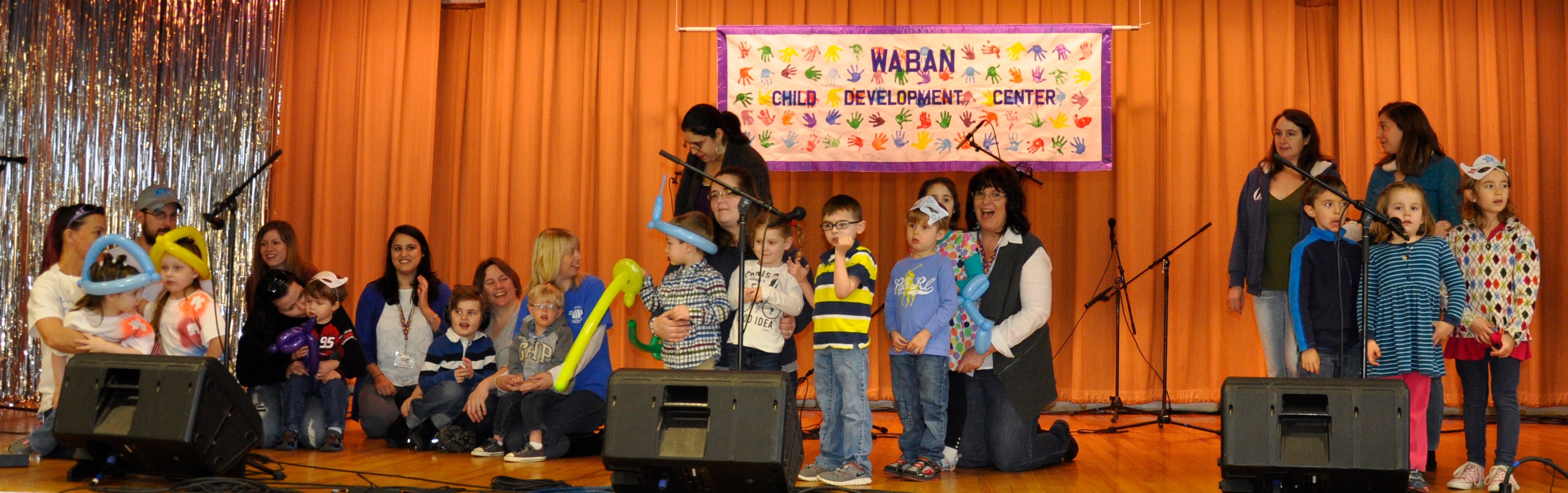 Children from Waban's Fraser-Ford Child Development Center will sing for the audience at the 46th Annual Waban Telethon on Saturday at the St. Ignatius Gym in Sanford. COURTESY PHOTO
