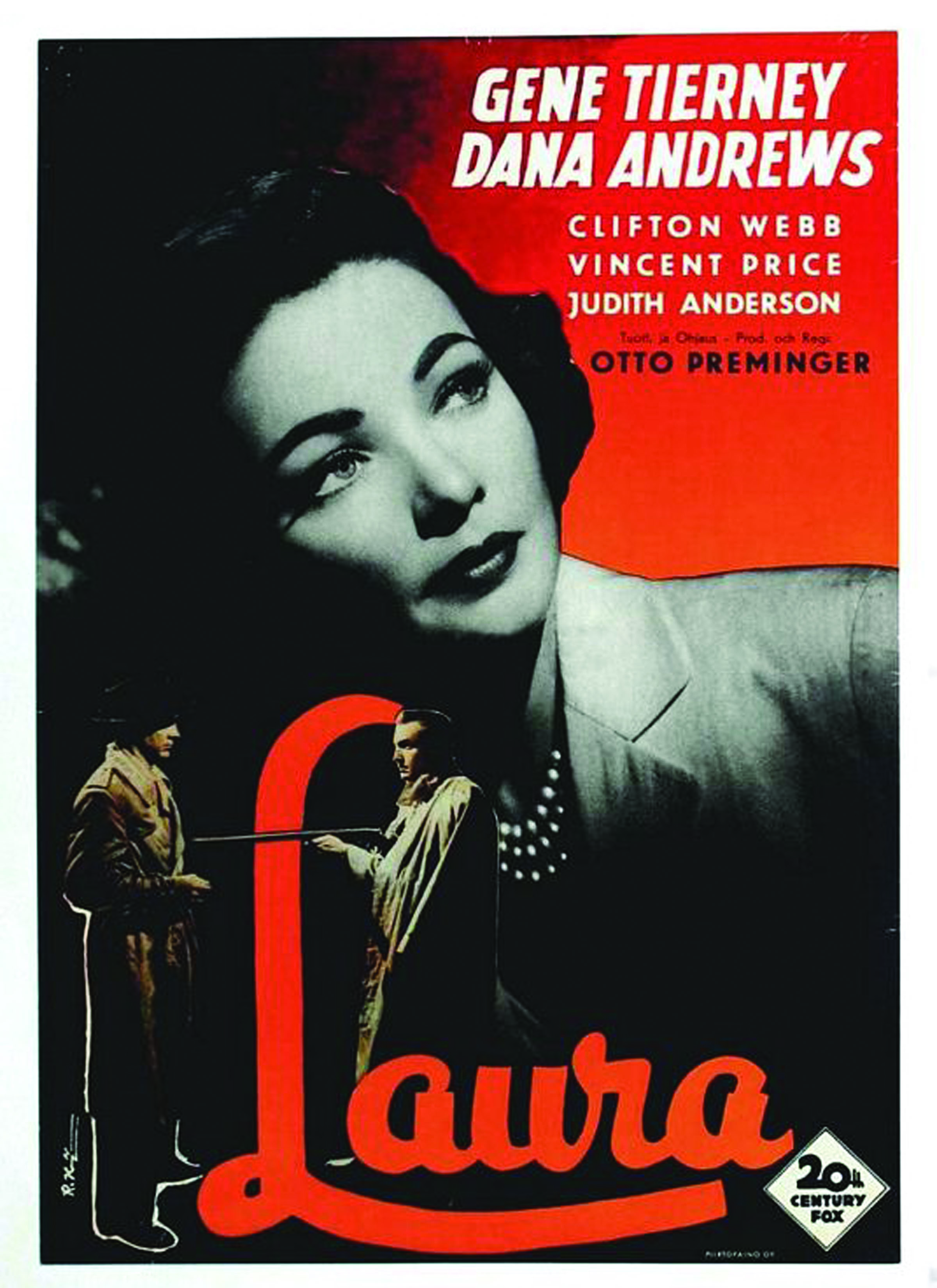 Laura, the sixth presentation in Ogunquit Performing Arts' 16th Annual Classic Film Series, will be shown at 2 p.m. Sunday April 2 at the Dunaway Center, 23 School St. in Ogunquit. Admission is free and there is plenty of free parking. Free popcorn, too. SUBMITTED PHOTO