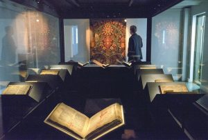 A LAW BOOK penned on calfskin in 1363 is displayed at a museum in Reykjavik. The revered Icelandic language, seen by many as a source of identity and pride, is being undermined by the widespread use of English, both for mass tourism and in the voice-controlled artificial intelligence devices coming into vogue.