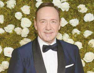 KEVIN SPACEY, host of the 71st annual Tony Awards, arrives at Radio City Music Hall.