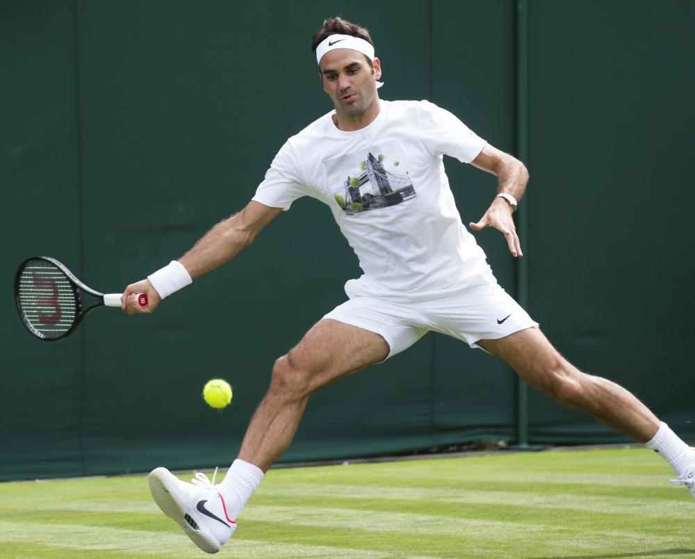 Roger Federer may be closing in on his 36th birthday, but he's in strong form again heading into a quest for his eighth title at Wimbledon, including a championship in the Australian Open in January.