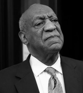 BILL COSBY exits the Montgomer y County Courthouse after a mistrial was declared in his sexual assault trial in Norristown, Pennsylvania.
