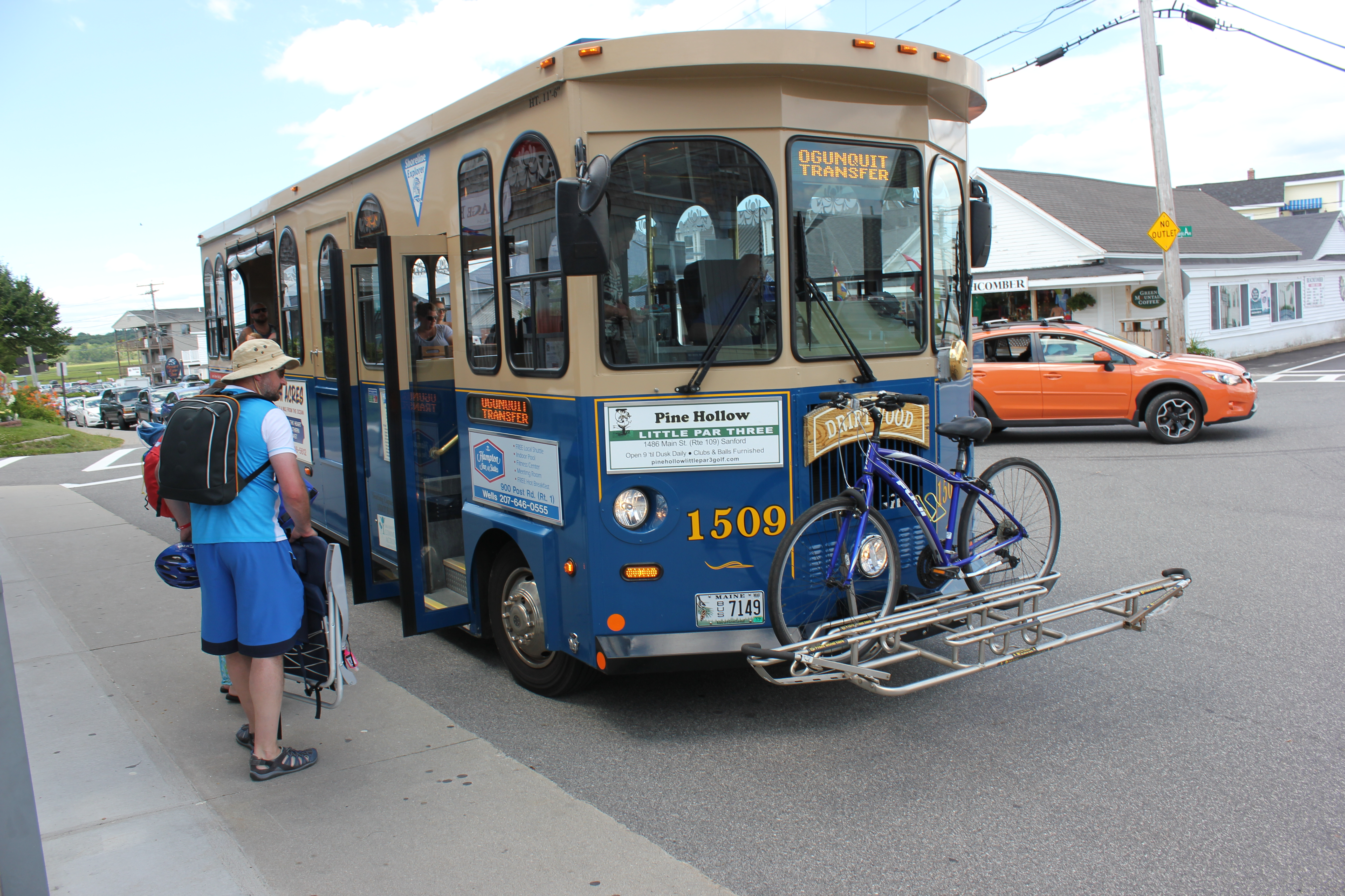 The Shoreline Explorer, which makes it easier for locals and tourists alike to get to the beach or to shopping in locations along the coast, begins its 12th season Saturday and offers new stops and new routes  for riders. COURTESY PHOTO/York County Community Action Corporation